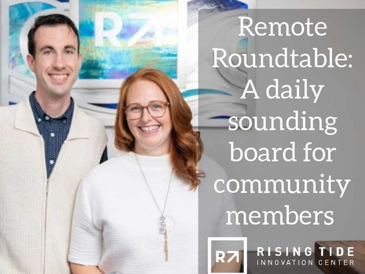 Wednesday 4/15 Remote Roundtable