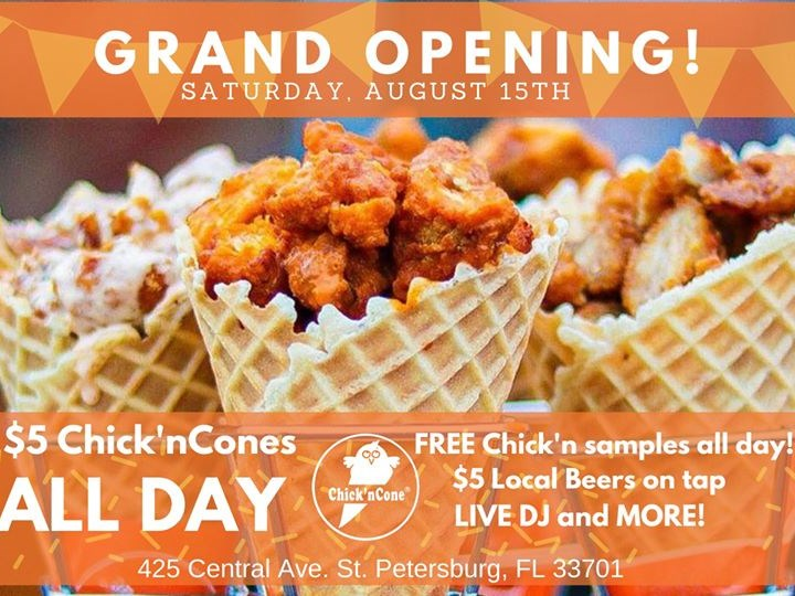 Chick'nCone Grand Opening!